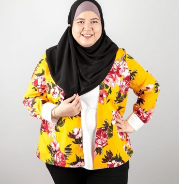 Ceci Fleur Cardigan with Attached Top