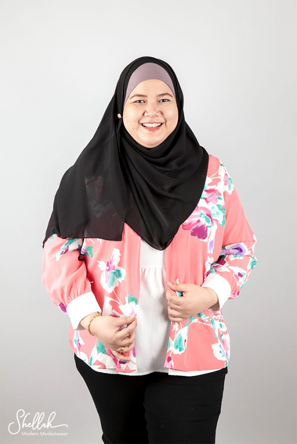 Ceci Blooms Cardigan with Attached Top